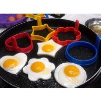 批发煎蛋器煎蛋模具 食品级硅胶煎蛋器 心形煎蛋器