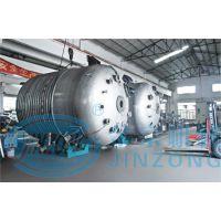 供应25000L外盘管加热反应釜SUS304不锈钢化工机械化工设备