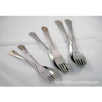 供应高档礼品,不锈钢餐具礼品,盛世经典(中)勺叉三件套