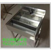 不锈钢水槽感应式消毒洗手槽单眼水槽洗菜洗刷池厂家定制