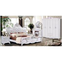 1.8M欧式欧款风格双人床,欧式风格床厂家批发,展示效果图,欧式床头柜