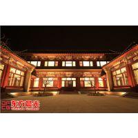 中式古建装修经典传承古色古香中国建筑经过数千年继承演变