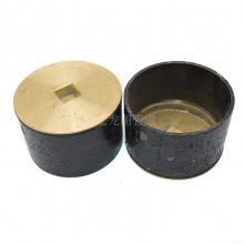 优质DN100铸铁式清扫口 屋面钢制落水斗 刚性防水套管厂家