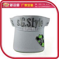 广告帽子订做 三国sityle游戏空顶帽 户外团队旅行遮阳空顶帽