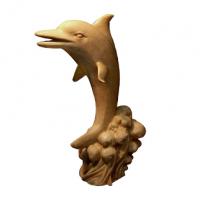 供应仿真海豚海洋景观雕塑小品喷水摆件