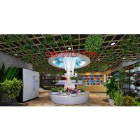 高级酒店大堂格子铝格栅天花&网格铝天花规格厂家定做