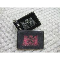 工厂加工定制生产天鹅绒卡通真皮钱包卡包钥匙包零钱包