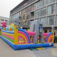 充气海绵宝宝城堡大型充气玩具儿童淘气堡厂家直销 广场玩具蹦床