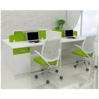 广州办公家具 广时杰家具 办公员工桌 四人卡位 时尚电脑桌