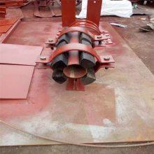 乾胜牌碳钢水平滑动支座DN450 电厂支架 滑动支座生产厂家