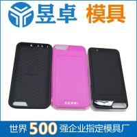 苹果4手机壳模具_生产厂家 东莞昱卓_三星s4手机壳注塑