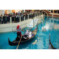 景观装饰船 7米贡多拉木船 观光船 旅游船 休闲船 欧式木船 颜色可选
