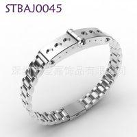 能量磁石保健手链不锈钢首饰加磁钛钢饰品来图来样代工厂加工生产