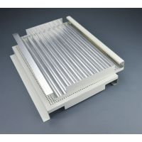铝材瓦楞复合板天花厂家&瓦楞板装饰吊顶天花