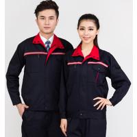 广州反光条工作服定制,番禺区防静电厂服订做,大石印字工作服生产厂