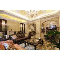 重庆约克郡装修样板房丨美式风格联排别墅设计效果丨天古装饰设计师