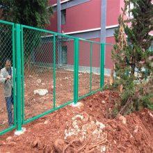 篮球场围栏 包塑勾花护栏网 安全防撞网