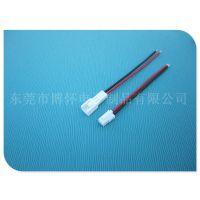 供应JST SMH2.5 2位公母连接线 空中对接线 LED插头线