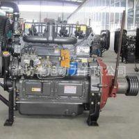 潍坊华旭直销ZH4100P固定动力型柴油机带双向离合器皮带轮