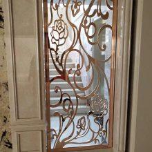 雕刻艺术铝屏风 精雕立体铝铜隔断批发