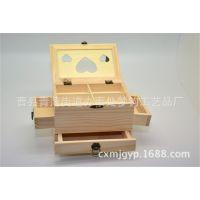 木质收纳盒 饰品收纳桌面收纳盒 木制创意家居生活用品批发定做