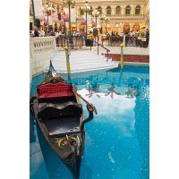 7米贡多拉手划船 威尼斯观光船 酒店装饰船 公园道具船 欧式木船