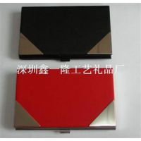 供应长沙金属名片盒定做厂家深圳不锈钢名片盒制作工厂 名片盒定做工期