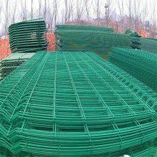 双边丝护栏网供应 球场围栏生产 高速护栏网设备