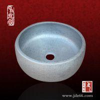 景德镇陶瓷台上盆,陶瓷圆形洗脸盆 洗手盆批发价格