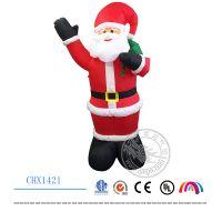 2016新款充气圣诞节装1.8米圣诞老人雪人节日装饰充气产品