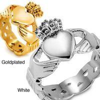 厂家供应批发 新型皇冠男款电镀戒指