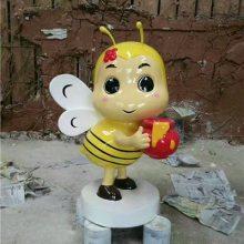 玻璃钢1米高蜜蜂公仔雕塑工艺品小蜜蜂玩偶树脂模型摆件卡通蜜蜂娃娃道具人仔