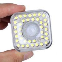 厂家直销智能人体红外感应LED灯 过道 走廊 楼道声控感应灯