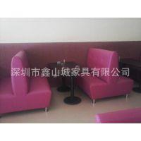 供应卡座沙发 1.2米卡座沙发 餐厅卡座沙发 厂家直销 质保五年