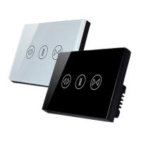 86型随意贴开关免布线互控功能RF无线开关智能照明控制系统方案