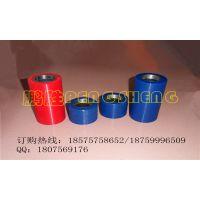 供应聚氨酯高耐磨铝型材贴膜机包胶滚筒 PU胶辊 铁件包胶