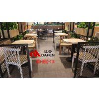 铁板烧自选快餐桌椅厂家直销,全国供应4006962114