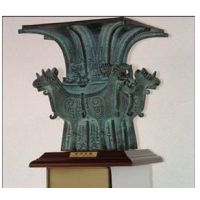 供应西安青铜摆件 开业青铜鼎 庆典青铜器