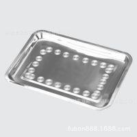 供应不锈钢无磁方盘加厚日式方盘/不锈钢托盘 冲孔盘