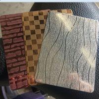 拉丝不锈钢板,201黑钛不锈钢板,水镀201黑钛板 顺德