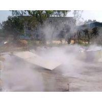 梅州清远韶关河源别墅房地产人工造雾,绿化景观喷雾机造雾工程施工