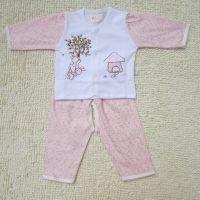 2014新款童套装婴儿套装全棉条纹开衫套装宝宝套外套长袖套装批发