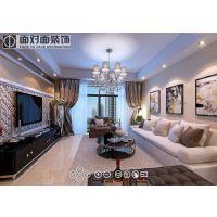 扬州明发江湾城87平现代简约装修效果图-一号家居网-扬州装饰公司