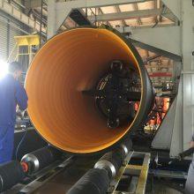 河南DN3000钢带波纹管,PE增强型波纹管