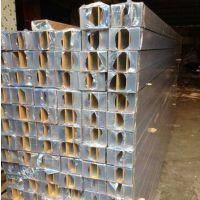 型材木纹铝方管外墙立面价格四方管铝方管尺寸