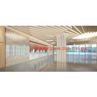 游戏馆弧形鋁單板吊顶|室内造型组合鋁天花|廣州歐佰天花