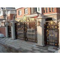 铝艺门、铝雕门、铸铝门,深圳品牌厂家订做,别墅庭院
