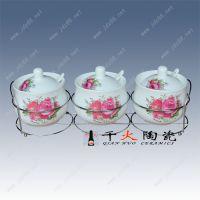 个性陶瓷调料罐调料瓶厂家,景德镇陶瓷调味瓶价格