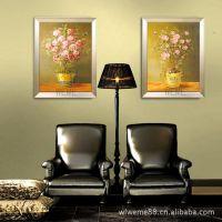 油画 现代简约客厅有框画 欧式***壁画 餐厅美家装饰画 素雅