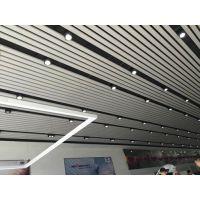 吉利4s店铝方通吊顶|吉利汽车店展厅专用铝格栅天花